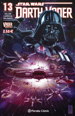 Star Wars Darth Vader nº 13/25 (Vader derribado 2 de 6)